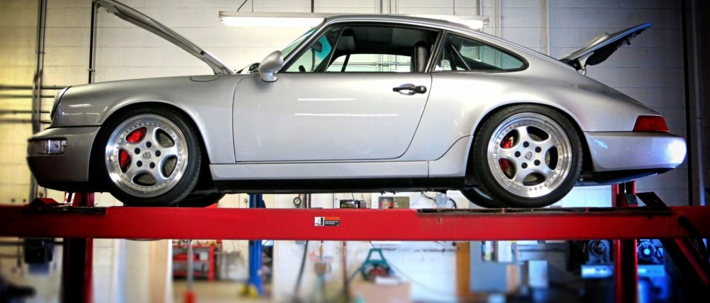 Porsche Calgary964 911 custom alignment specialists