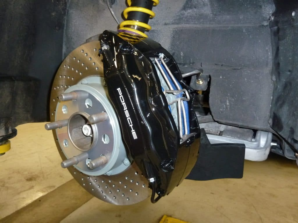 Porsche Calgary Replacement Brakes Calipers Rotors Discs Pads